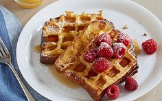 Waffled Brioche French Toast by Food Network Kitchens (Berries) @FoodNetwork_UK