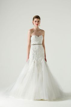 Anne Barge #Wedding Dresses. http://www.modwedding.com/2014/07/23/anne-barge-wedding-dresses/ #wedding #weddings #wedding_dress