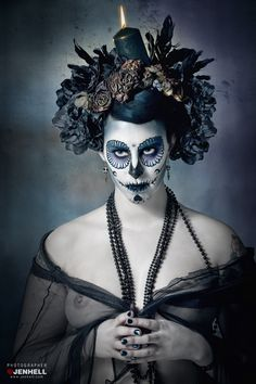 Day of The Dead III by JenHell66.deviantart.com on @deviantART