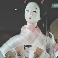Como mirada de geisha.