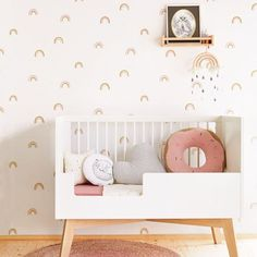 Papier Peint Rose Rainbow Kids Room Eijffinger Numéro d& 399012 Ce papier peint . - Pink Rainbow Kids room Papier peint Eijffinger Numéro d& 399012 Ce papier peint rose - Rainbow Room Kids, Rainbow Bedroom, Rainbow Nursery, Mini Me, Diy Tapete, Baby Room Boy, Kids Room Wallpaper, Wallpaper For Girls Bedroom, Wallpaper Childrens Room