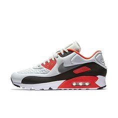 separation shoes 7d7ff 84747 Nike Air Max 90 Ultra SE Herre Sneakers Pure Platinum Neutral grå lyse  Crimson