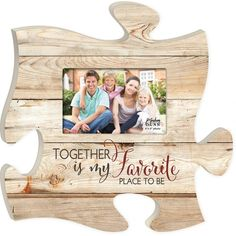Family First Puzzle Photo Frame Family First Puzzles