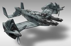 """concept.  NOT a spacecraft, but still cool to me.  Listed with space vessels as an """"honorable mention"""".  WWII Retro-techno-punk."""