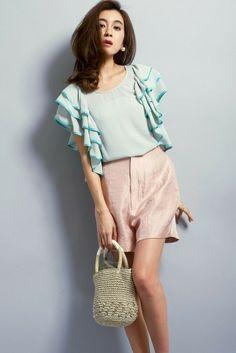 Million Carats シャイニーショートパンツ(4月下旬) / pastel colored shiny shorts on ShopStyle