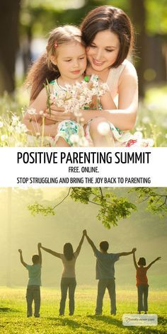 Postive Parenting Summit. Stop struggling with parenting and bring back the joy. #parenting #postive #kids #parents