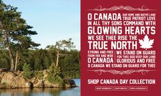 Roots Canada Day - Canadian pride! Love their comfy hoodies & sweats!