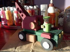 a crane truck I made for my great nephew Hunter.