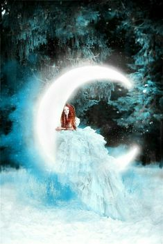 Romantic Images, Wicca, All Art, Moonlight, Fantasy Art, Fairy Tales, Waterfall, Waves, Gallery