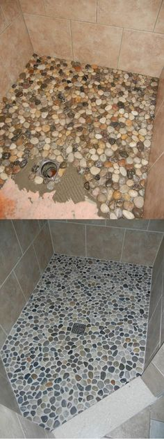 Incredible Budget DIY Bathroom Makeover Ideas Considering the bathroom makeover which is easy and cheap but at the same time amazing too? Just look at these DIY Bathroom Makeover Ideas, they will satisfy that itch without breaking the bank. Small Shower Remodel, Diy On A Budget, Home Remodeling, Cheap Remodeling Ideas, Home Improvement, New Homes, Inspiration, Small Bathroom, Tile Bathrooms