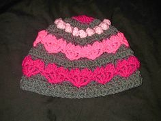 Hearts and Bobbles Beanie by Spider Mambo - Crochet Free until 2/14 With Coupon Code HAT