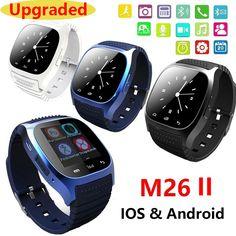 Waterproof Smartwatch M26 Bluetooth Smart Watch With LED Alitmeter Music Player Pedometer For Apple IOS Android Smart Phone 8955 Digital Guru Shop