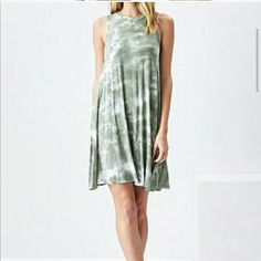 *JUST IN* SADIE & SAGE AMY TIE-DRESS. Very cute and sexy summer dress! Racer back top and flared bottom. Ribbed. Hits right above the knee. Very flattering and stylish. 95% Rayon 5% Spandex. 8 1/2 in. arm hole. Dresses Mini