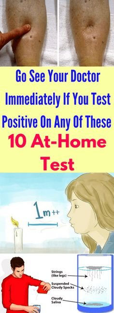 Numerous people don't treat their health conditions because they cannot read the signs that their body sends. Therefore, we will present you some tricks for reading the body that will help you to find out if you have any medical problem.    10 Useful At-Home Health Tests Count Your Taste Buds, Test Your Cancer Risk …