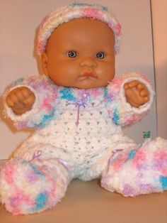 """Ravelry: Little Pipsqueak for 14"""" Berenguer Lots to Love pattern by Danni Smith"""