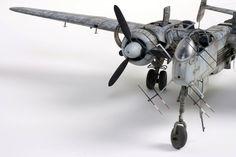 Heinkel He-219 1/32 Scale Model