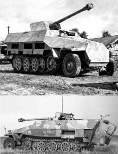 Fitted with a 75 mm PaK 40 anti-tank gun. Probably too big a gun for the carriage, overloaded but effective Space Soldier, Tank Destroyer, Military Pictures, Armored Fighting Vehicle, World Of Tanks, Military Equipment, German Army, Armored Vehicles, Special Forces