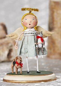 LORI MITCHELL Wizard Of Oz Missy Munchkin Folk Art Figurine ~ Free Shipping