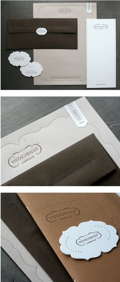 I really want to get a set of letterpressed stationary. I would then include a handwritten thank you letter on this.