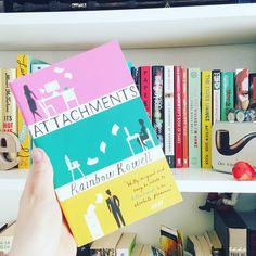 Today #BookishMarch is all about the 29th book on the shelf. That's Attachments by Rainbow Rowell which I absolutely adore.  #bookstagram #bookphotography #booklover #bookstagramfeature #reading #bookish #shelfie by shipofbooks