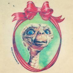 E.T. Christmas decorations