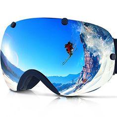 e002991f8f Zionor Lagopus Snowmobile Snowboard Skate Ski Goggles with Detachable Lens  TOP NOTCH QUALITY SKI GOGGLES -