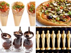 What's for Dinner at the Oscars 2013: Wolfgang Puck Shares Photos and Secrets : Condé Nast Traveler