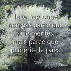 Pardonner pour être entre paix. #08h08 #JeSuisPrésentAMaVie #Méditation #Mindfulness #Pardon #Paix #PleineConscience