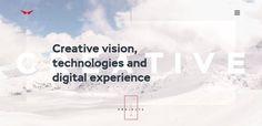 Red collar  #inspiration #webdesign #ui