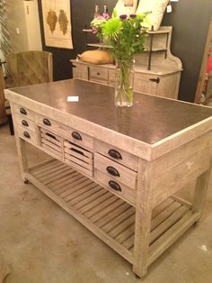 This look has been very popular at Woods Furniture. Those at World Market say that it's been popular across the nation.