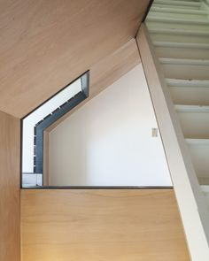 Tijl & Indra is a spacious townhouse with a house in a house, located in Ghent, Belgium. Atelier Vens Vanbelle created the house renovation in collaboration with the owner of the house, Tijl, in House And Home Magazine, Townhouse, Stairs, Windows, Architecture, Furniture, Home Decor, Atelier, Arquitetura
