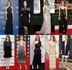 Which Was Your Favourite Emma Stone Awards Season Look? - Red Carpet Fashion Awards