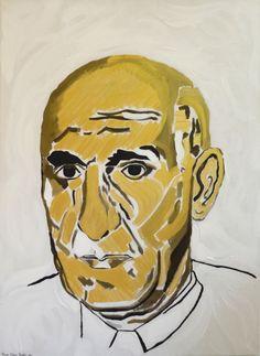 Debut Contemporary | Portrait of Mossadegh by Sassan Behnam Bakhtiar