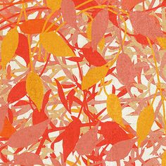 Colorful Leaves Digital Art  - Colorful Leaves Fine Art Print, Bonnie Bruno