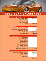 Use Our Auto Loan Calculator To Calculate Car Payments In Your