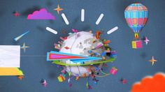 IBM holidays greeting card, with Ogilvy agency.  Full project :  http://www.behance.net/gallery/Happy-Planet/7028673