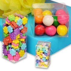 Clear PVC Plastic Boxes - Lock Tab Bottom