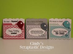 Cindy's Scraptastic Designs: MCT Made In Minutes!!!