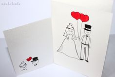 wedding card XII