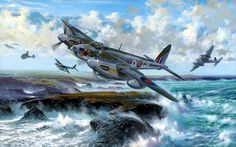 De Havilland Mosquito FB MK IV by Simon W. Atack