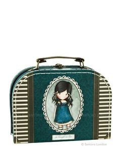 Small 'suitcase' box - You brought me love, Santoro's Gorjuss