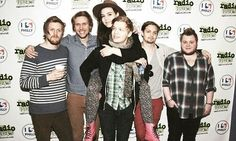Of Monsters And Men.  Nanna is on Brynjar's back. i just cant even handle this