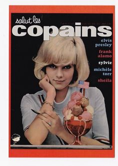 salut les copains sylvie vartan on the cover of a magazine pinterest. Black Bedroom Furniture Sets. Home Design Ideas