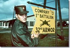 Image result for elvis army picture