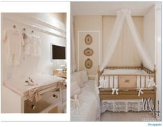 Pink, Gold, and white nursery