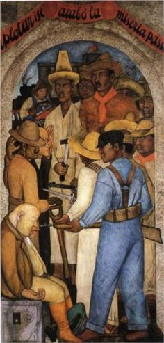 Death of the Capitalist  by Diego Rivera (Dec 8, 1886 – Nov 24, 1957) Prominent Mexican painter & husband of Frida Kahlo. His large wall works in fresco helped establish the Mexican Mural Movement in Mexican art. http://www.wikipaintings.org/en/diego-rivera/death-of-the-capitalist-1928