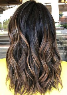 36 Fabulous Brunette Hair Color Trends to Try in 2018. Here you can see some of the fresh and modern ideas of brunette and brown hair colors shades for various hair lengths. There are various kinds of brunette hair color highlights that you may use to sport for coolest hair colors look. Find here the best ever gallery of brunette hair colors with unique brown colors.