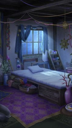 anime episode backgrounds interactive scenery rooms background bedroom night bedrooms drawings fancy animation