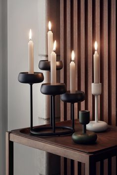 Sturdy and sympathetic, Nappula represents the strong Nordic design language typical of Matti Klenell's work. Nappula's soft forms conform to the gentle flame of the candle, while its solid base and delicate stem form an interesting contrast between firm and subtle.  #iittala #homedecor #interiordesign #finnishdesign #nordic #candleholder #autumn #mood #decor #moderndesign