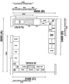 Modern Kitchen Layout Plans luxury kitchen floor plans | tv kitchen floor plans | pinterest